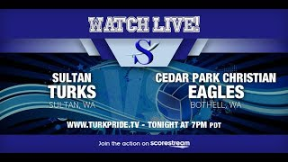 Lady Turk Volleyball!  Sultan vs. Cedar Park Christian