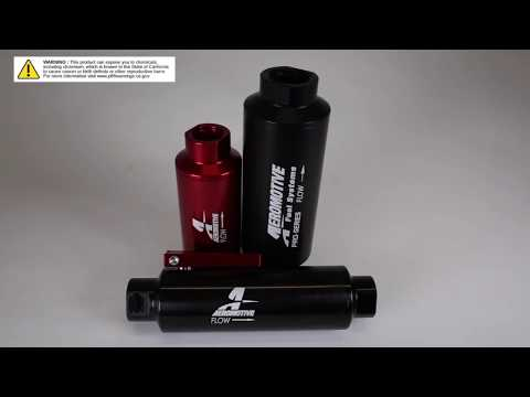 Aeromotive Filter Technology