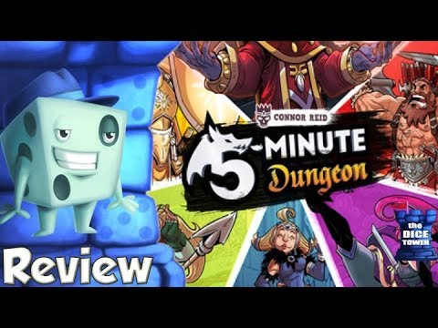 5 Minute Dungeon Review - with Tom Vasel