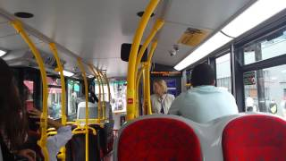 preview picture of video 'Journey on the 49 (2479 SN64OFD) Alexander Dennis Enviro 400 Hybrid 10.2m'