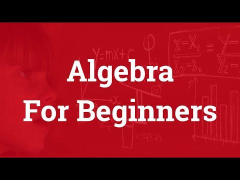 Algebra for Beginners | Basics of Algebra
