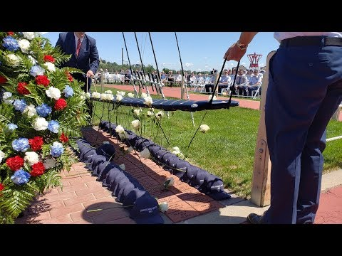 Video: Memorial service remembers the Escanaba 75 years after its sinking