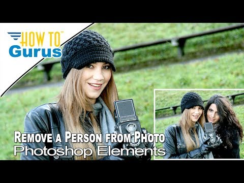 How To Remove a Person or Object from a Photo in Photoshop Elements