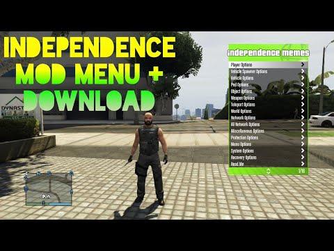 GTA V ONLINE: MOD MENU FREE INDEPENDENCE 2 0 SPRX