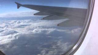preview picture of video 'A380 Singapore Airlines Flight, Upper Deck Frankfurt to NYC'