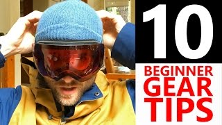 #4 Snowboard begginer – Snowboard gear tips