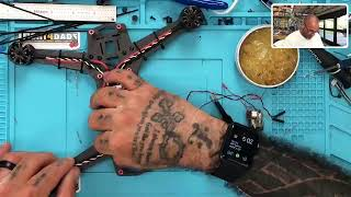 York Middle School Student Drone Repair from Cyclone FPV Live Videos