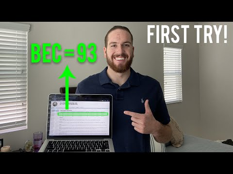 HOW TO PASS BEC CPA EXAM WITH A