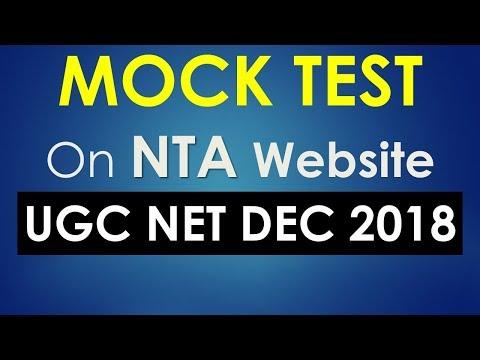 UGC NET Mock Test for Online Computer Based Exam - Paper 1 ...