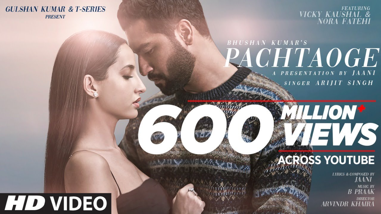 Pachtaoge lyrics -Arijit Singh -B Praak -Jaani Ve