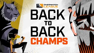Back-to-Back CHAMPIONS — Story of the @San Francisco Shock vs @Seoul Dynasty