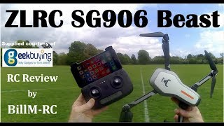 ZLRC SG906 Beast review - NEW Dual GPS 5G WiFi FPV Foldable RC Drone