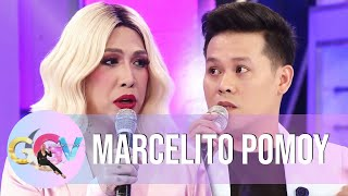 "Marcelito Pomoy talks about his biggest rival in ""America's Got Talent: The Champions.""  Subscribe to the ABS-CBN Entertainment channel! - http://bit.ly/ABS-CBNEntertainment  Watch your favorite Kapamilya shows LIVE! Book your tickets now at http://bit.ly/KTX-GandangGabiVice  Watch the full episodes of Gandang Gabi Vice on TFC.TV   http://bit.ly/GGV-TFCTV and on iWant for Philippine viewers, click:  http://bit.ly/GGV-iWant  Visit our official websites!  https://entertainment.abs-cbn.com/tv/shows/ggv/main http://www.push.com.ph  Facebook: http://www.facebook.com/ABSCBNnetwork Twitter: https://twitter.com/ABSCBN  Instagram: http://instagram.com/abscbn  #GandangGabiVice #ABSCBNGandangGabiVice #GGVSabiNaHappyEh"