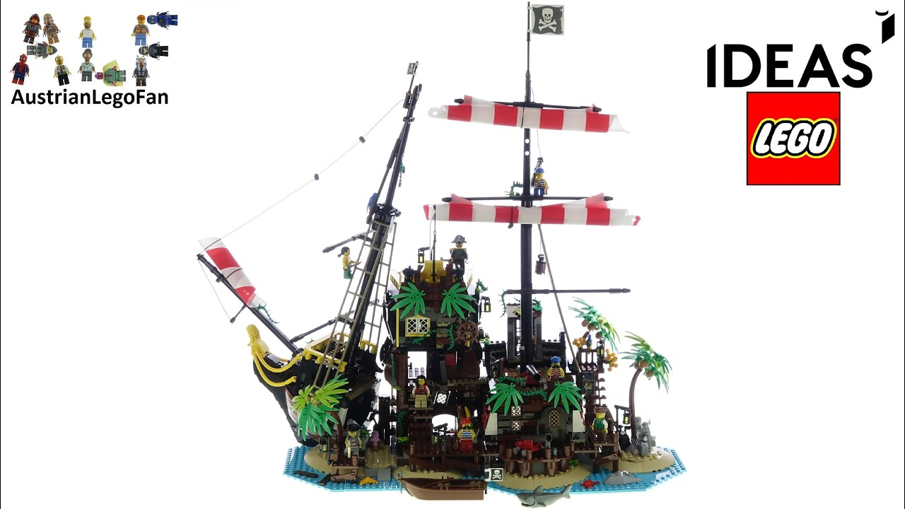 LEGO Ideas 21322 Pirates of Barracuda Bay - Lego Speed Build Review