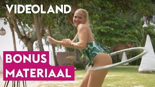 Hoelahoep challenge met de koppels en verleiders! | Temptation Island