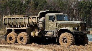 Легендарные грузовики КРАЗ и Легендарная проходимость ✅ на Бездорожье KRAZ off-road  #2