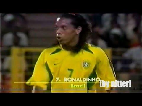Ronaldinho vs Nigeria 2002-2003 [by nitter]