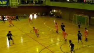 群馬県高校総体ハンドボール大会3位決定戦最後の2分30秒
