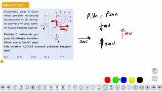 Eğitim Vadisi 11.Sınıf Fizik 12.Föy İtme ve Çizgisel Momentum 2 Konu Anlatım Videoları
