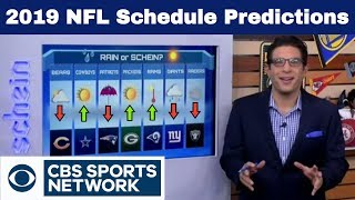 COWBOYS trending UP and RAIDERS going the WRONG WAY - 2019 NFL Schedule Preview | Time to Schein