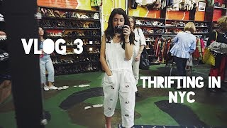Vlog 3 : Best Thrifting in Brooklyn! (NYC)