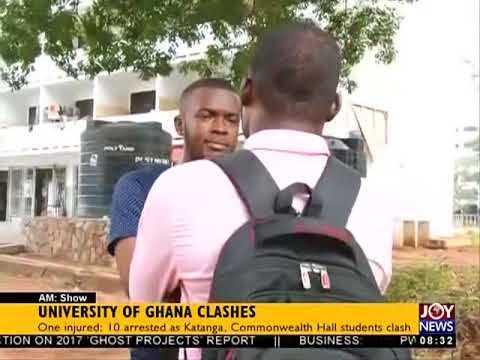 University of Ghana Clashes - AM Show on JoyNews (17-4-18)