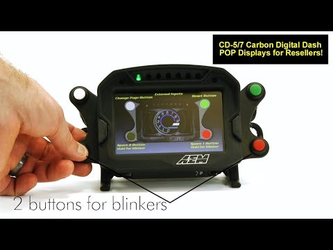 CD Carbon Point-of-Presentation Display for Resellers