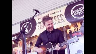"Josh Ritter performing ""Long Shadows"" @ Vintage Vinyl, St. Louis,  Record Store Day 2013"