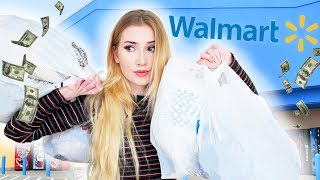 Wearing Only Walmart For A Week !!