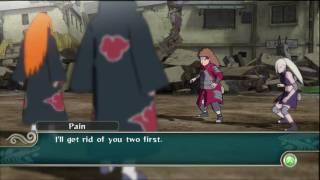 Наруто, Naruto Shippuden: UNS2 - Kakashi vs Pain Boss Battle HD