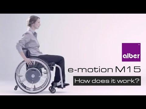 Alber. Emotion  Elektromos rásegitésű kerék
