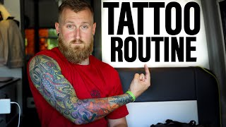 Finishing A Full Sleeve! | Tattoo Routine