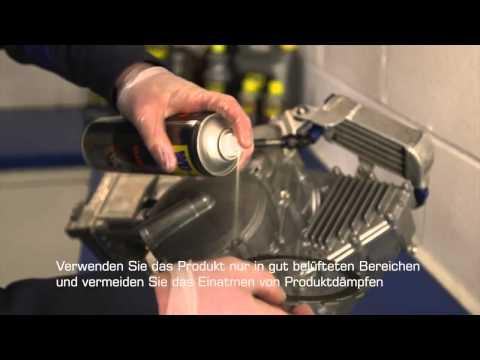 MotochicTV WD40 Bremsenreiniger Anwendung Kupplung