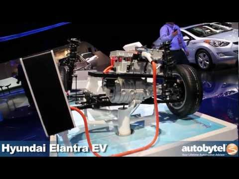 Hyundai Elantra EV concept at the 2012 Detroit Auto Show video