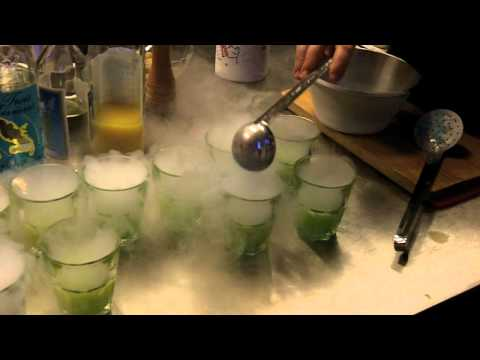 Cooking a Liquid Nitrogen Dessert
