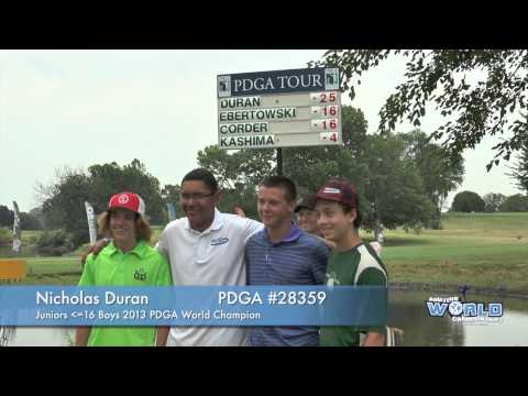 The Champions | 2013 PDGA Amateur & Juniors Disc Golf World Championships