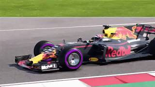 F1 2017 Mexico GP Highlights