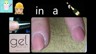 Sculpted Nails With The Gel Bottle Inc Builder In A Bottle