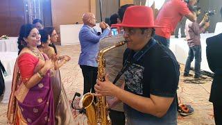 Yeh raat bheegi beeghi hindi song instrumental on saxophone by SJ Prasanna (9243104505  Bangalore).