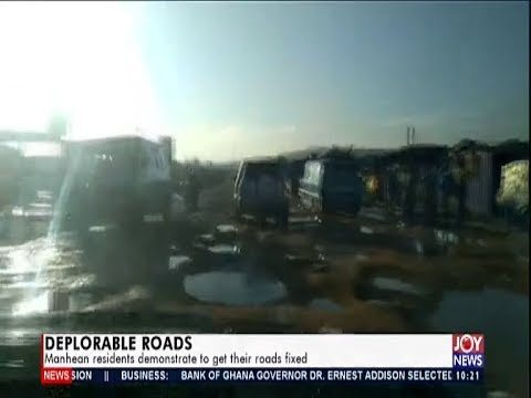 Deplorable Roads - News Desk on JoyNews (21-10-19)