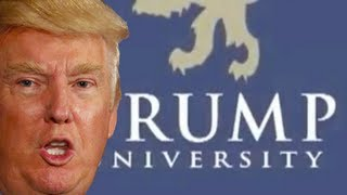 Trump's University Students Taught How To Swindle Trump University Students thumbnail