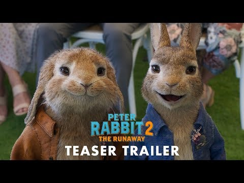 Peter Rabbit 2: Un birbante in fuga – Il teaser trailer