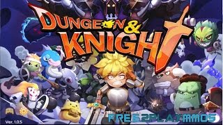 Dungeon and Knight Gameplay Android / iOS