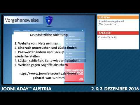 JD16AT - Webseite gehackt? Wie säubern!