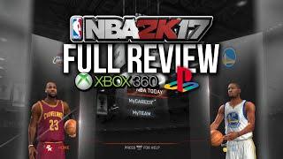 FULL NBA 2k17 PS3/360 Review (Last Gen VS Next Gen Comparisons + Gameplay)