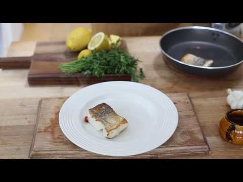Hake and Black Butter Sauce