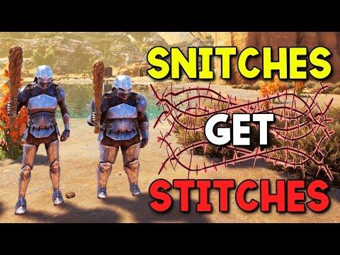 SNITCH REVEALS OUR BASE - ARK Extinction - Duo Survival