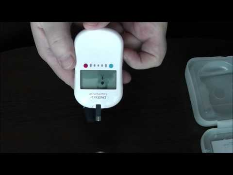 Тест полоски для сахара в крови one touch