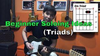 Guitar Emerge - Beginner Guitar Soloing Ideas (Triads)