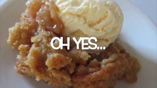 apple crisp with cake mix and apple pie filling
